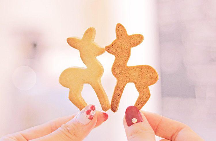 鹿のクッキー